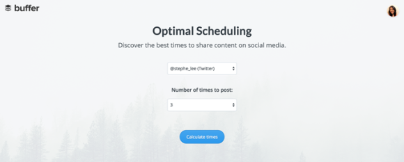 buffer-optimal-scheduling